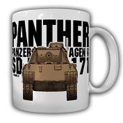 Panther Armoured SdKfz 171 WH Germany WK Medium Combat Tank German Coffee Mug#15932