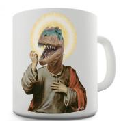 Twisted Envy Raptor Jesus Ceramic Mug
