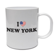 I LOVE NEW YORK - America / American / Fun / Gift Idea Ceramic Mug