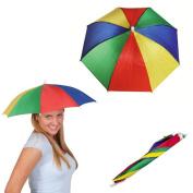 Hat umbrella head - Children & Adults Parasol rentals, fishing, golf ...