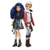 Disney Descendants Evie and Carlos -2Pk
