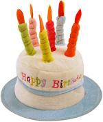 HAPPY BIRTHDAY HAT NOVELTY CAKE BIRTHDAY PRESENT GIFT IDEA BLUE