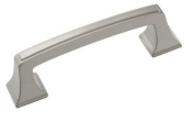 Amerock BP53030G10 Mulholland Pull, Satin Nickel, 7.6cm Centre-to-Centre, Pack Of 2