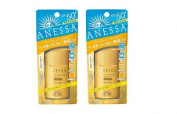 Shiseido Anessa Perfect UV Sunscreen SPF 50+ PA++++ 60ml / 2oz × 2 Bottles