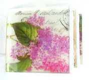 Lilac Big blooms, honeysuckle Fragrant Flowers Postcard theme, Pretty as a picture soap
