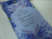 Castelbel Single Bar Soap Made in Portugal -HYDRANGEA HORTENSIA 310ml Gift Wrapped Luxury bath soap