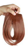 Sexybaby 2 Clips 30G Synthetic Extension Hairpieces Clip in Front Neat Bangs