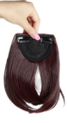 Sexybaby 2 Clips 30G Synthetic Fibre Clip-in Hair Extension Front Neat Bangs