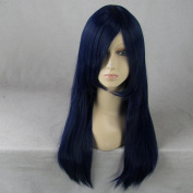 Lucky Star Konata Izumi/Fairy Tail Wendy Marvell 60cm Long Blue Cosplay Wig