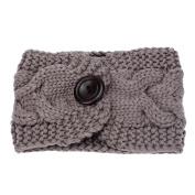 Tonsee Women's Korean Style Headwear Head Wraps Crochet Twist Flower Elastic Headbands