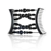 Hairzing Tribal Essential Plastic- Black- Medium - The Patented Original