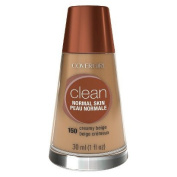 COVERGIRL Clean Liquid Foundation for Normal Skin that gives a natural, beautiful look, even close up