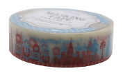 Amifa Japan Moscow Russia Edition Washi Masking Deco Tape Standard