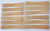 Bamboo Shanks 6 pairs Shoes Boots Making Leather Sole Repair