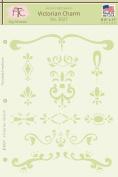 "Fairytale Creations Victorian Charm Stencil, 8.5""L x 11""H"