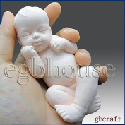 Lifelike Baby Ryan(2 Parts Assembled Mould) - 3d Silicone Soap/polymer Caly Mould