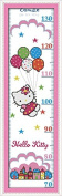 Happy Forever Cross Stitch Cartoon, cat height table