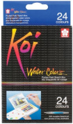 Koi Water Colours Pocket Field Sketch Box W/Brush-2 1 pcs SKU# 640758MA