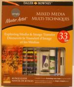 Master Artist Exploring Media & Image Transfer Kit, Mixed Media MULTI-TECHNIQUES