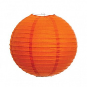 Mango Orange 20cm Paper Lantern - Set of 2