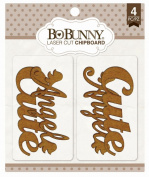 Bo Bunny - Cute Laser Cut Chipboard