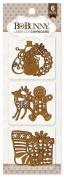 Bo Bunny - Holidays Laser Cut Chipboard