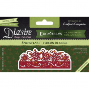 Crafter's Companion Die'sire Edge'ables Cutting & Embossing Die Snowflake