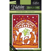 Crafter's Companion Die'sire Create-A-Card Cutting & Embossing Die O' Holy Night