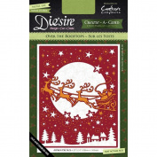 Crafter's Companion Die'sire Create-A-Card Cutting & Embossing Die Over The Rooftops