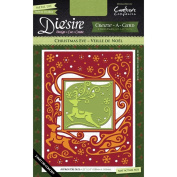 Crafter's Companion Die'sire Create-A-Card Cutting & Embossing Die Christmas Eve