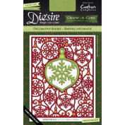 Crafter's Companion Die'sire Create-A-Card Cutting & Embossing Die Decorative Bauble