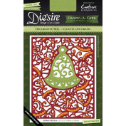 Crafter's Companion Die'sire Create-A-Card Cutting & Embossing Die Decorative Bell