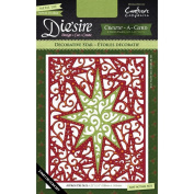 Crafter's Companion Die'sire Create-A-Card Cutting & Embossing Die Decorative Star