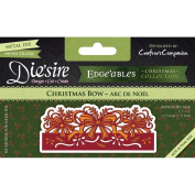 Crafter's Companion Die'sire Edge'ables Cutting & Embossing Die Christmas Bow