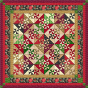 Easy Quilt Kit Christmas Pinwheels 2015