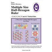Multiple Size Half-Hexagon Ruler