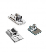 ThreadNanny Pintuck Groove Presser Foot Set including a 9 Groove, 7 Groove, and 5 Groove - Fits All Low Shank Snap-On Brother, Babylock, Euro-Pro, Janome, Kenmore, White and more!