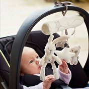 Bed Bells Developmental Kids Baby Soft Toy Animal Musical Toy Stroller Ornaments