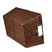 Paper Fibre Storage Basket - Brown