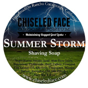 Handmade Luxury Shaving Soap - Summer Storm From Chiselled Face Groomatorium