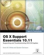 OS X Support Essentials 10.11 - (Includes Content Update Program)