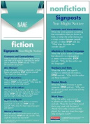 Notice & Note / Reading Nonfiction Signpost Student Bookmarks  : 30-Pack