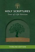 Tlv Thinline Bible, Holy Scriptures, Grove/Sand, Tree Design Duravella