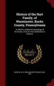 History of the Hart Family, of Warminster, Bucks County, Pennsylvania