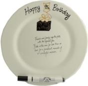95th Birthday Gift Plate (Round)