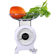 Kitchen Scale Retro Mechanical Dial 0-0.9kg Food Scale Diet Portable measuring scale