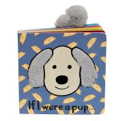 Jellycat Board Books, If I were a Pup Book - 15cm