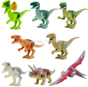 Jurassic World Dinosaur Figures - 8pcs/Set
