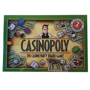Casinopoly - The Casino Monopoly Party Board Game