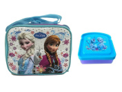 Disney Frozen Elsa, Anna & Olaf Insulated Lunch Box with Frozen Bread Shaped Sandwich Container